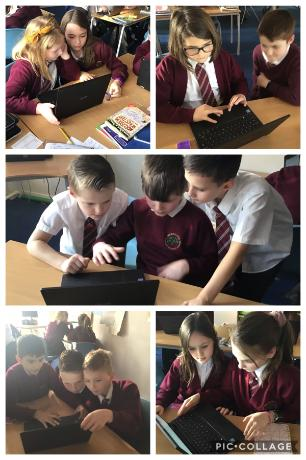 Collaboration using ICT skills